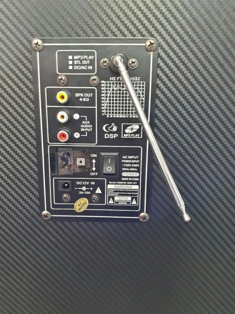 اسپیکر حرفه ای شاک ویو 10DC