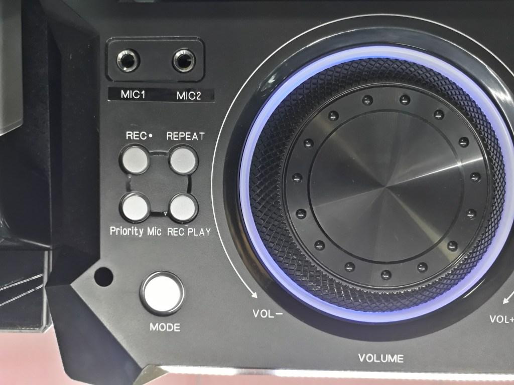 اسپیکر حرفه ای شاک ویو مدل 1021