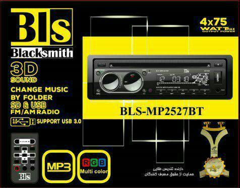 پخش کننده خودرو بلک اسمیت مدل BLS-MP2527BT