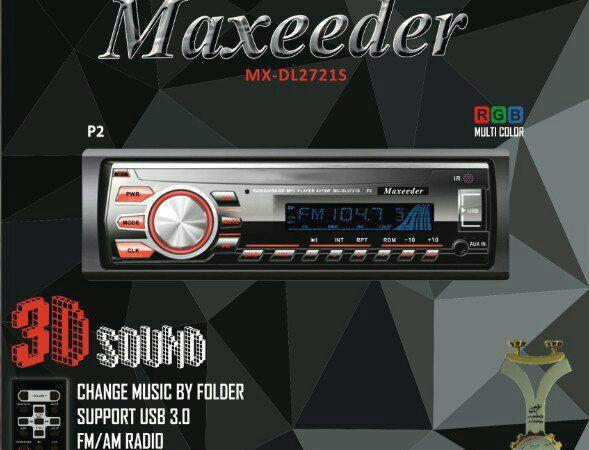 پخش کننده خودرو مکسیدر مدل MX-MP2721S