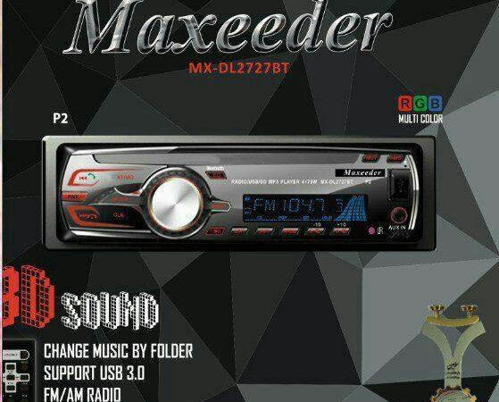 پخش کننده خودرو مکسیدر مدل MX-MP2727 BT