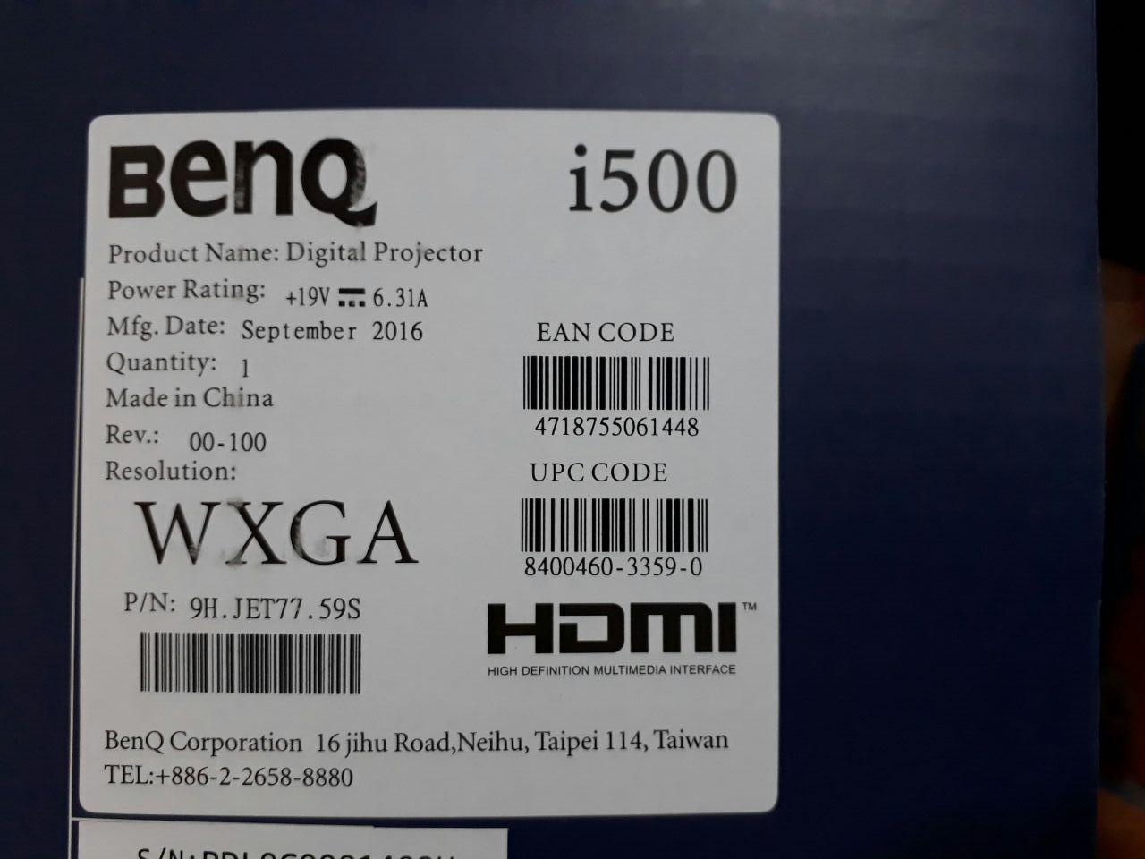 پروژکتور بنکیو مدل i500 BenQ i500 Smart Projector