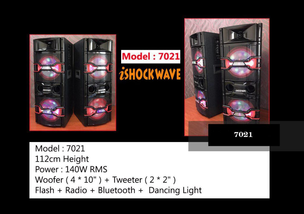 اسپیکر شاک ویو مدل ۷۰۲۱