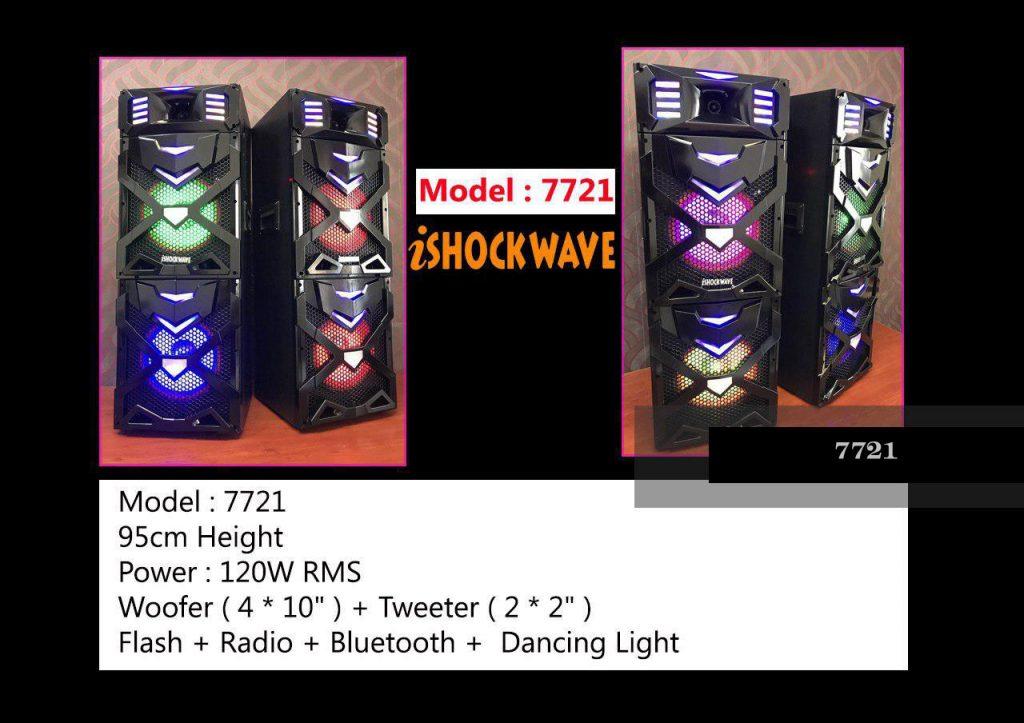 اسپیکر شاک ویو مدل 7721